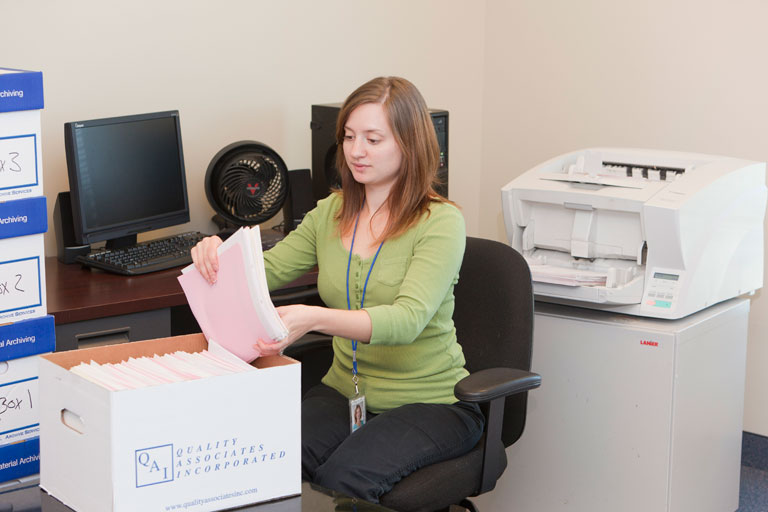 scanning multiple document formats including microfilm, microfiche, microform and paper