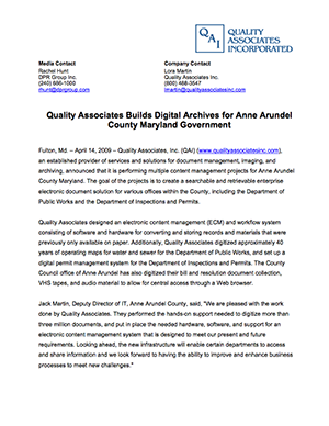 quality associates 2 essay Case analysis 2 quality associates, inc, a consulting firm, advises its clients about sampling and statistical procedures that can be used to control their manufacturing process.