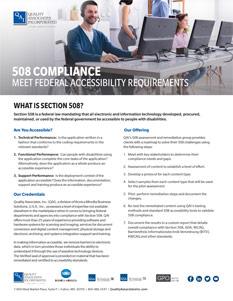 508 Compliance Brochure