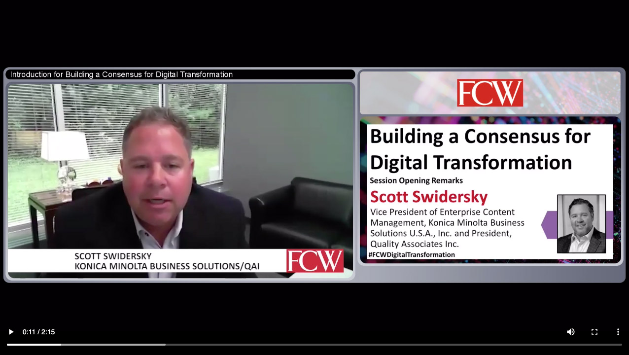 Building a Consensus for Digital Transformation